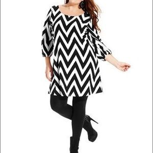 ING Chevron dress NWT!!!🖤